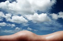 Landscape (.chourmo.) Tags: woman beach landscape spain fuerteventura naturism naturist canaryislands ©nicopiotto