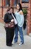 Michelle Keegan with her mother