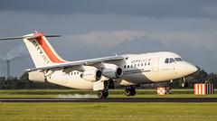 British Aerospace Avro 146-RJ85 (Boushh_TFA) Tags: netherlands airport nederland british schiphol ams aerospace avro 146 eham rj85 cityjet polderbaan èirjg