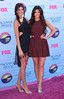 Kendall Jenner and Kylie Jenner at the 2012 Teen Choice Awards held at the Gibson Amphitheatre - Arrivals Universal City, California