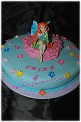 Winx Bloom (Nuvole di Zucchero di Katia) Tags: cake katia bloom compleanno torta sicilia decorazione fondant winx