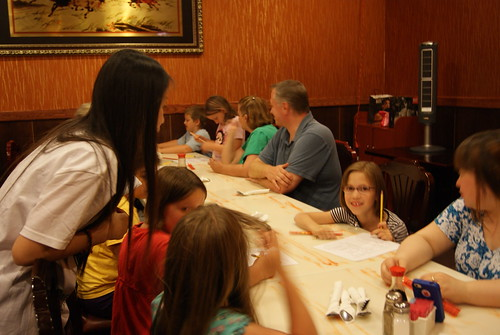 Summer Camp Hibachi Dinner 6-15-2012