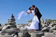 Breizh Love (kimcass) Tags: wedding bretagne mariage finistre galets kimcass