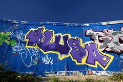 KLUSA (4foot2) Tags: streetart brighton streetphotography 2012 blackrock brightongraffiti klusa brightonstreetart brightongraff 4foot2 klusagraffiti 4foot2flickr 4foot2photostream fourfoottwo