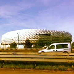"""Allianz Arena Munich FC Bayern • <a style=""""font-size:0.8em;"""" href=""""http://www.flickr.com/photos/66124349@N03/7667264840/"""" target=""""_blank"""">View on Flickr</a>"""