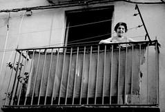 Cords & Wires (Pouria Mahrouyan) Tags: old bw italy woman white black window italia cords sicily washing siracusa
