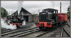 Marley Hill (Blaydon52C) Tags: marleyhill tanfield railway rail railways trains train transport locomotive locomotives loco locomotion steam engine manning wardle sir berkeley armstrongwhitworth no2