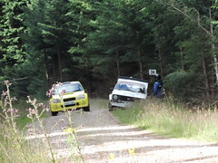 Grampian Stages Rally 2016 (RS Pictures) Tags: src scottish rally championship coltel grampian stages stage 2016 durris ss forest forestry road track special ss6 2 ford escort mk2 mkii suzuki ignis motorsport auto