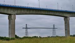 Rocheforts, ponts du Martrou (thierry llansades) Tags: boat pont larochelle bateau royale charente ponts hermione fleuve patrimoine caravelle rochefort navire shtandart corderie charentes corderieroyale martrou
