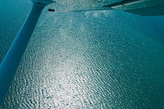 Flying above the sea (Karl Hab) Tags: flying above sea karlhab aviation cessna rare navigation 2016 karl hab cessna172 colors blue channel