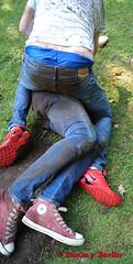 jeansbutt10624 (Tommy Berlin) Tags: men jeans butt ass ars levis fight