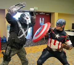 "CAPTAIN AMERICA: ""The Carnage of Crossbones"" (MorpheusBlade) Tags: 2016otakon baltimoreconventioncenter captainamerica crossbones cosplay comicon costumes"