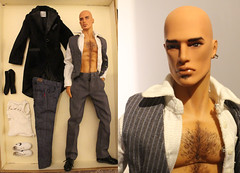 For Sale: Hunky Dreams Giftset Fahir 150usd - ON HOLD (em`lia) Tags: fashionroyalty fr homme male doll ken fashion clothes shoes ooak repaint emiliacouture