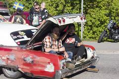 Arriving in style (Steffe) Tags: raggartrff raggare rttsoffa subculture vegabaren grandprixraggarbil2016 handen haninge sweden summer