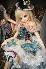 Aizome (TURBOW) Tags: bjd doll balljointeddoll luts kiddelf kdf ani dollflower dollheart msd
