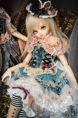 Aizome (TURBOW) Tags: bjd doll balljointeddoll luts kiddelf kdf ani dollflower dollheart msd