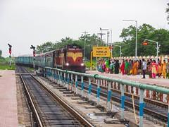 Marathwada Exp. (B V Ashok) Tags: ned dabmmr dharmabadmanmad marathwada express 17688 scr composite highcourt purna pau gtl guntakal alco wdm3a 16600 flickrtravelaward