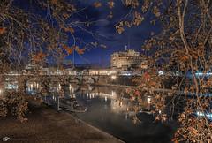 _DSC4432 (Martino_Antonello) Tags: roma castel sangelo fiume tevere panorama