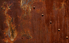 Rivet Zen (Junkstock) Tags: aged abstract abstraction astoria color corrosion corroded decay decayed distressed fortstevens industrial industry old oldstuff oregon photos photographs photography photograph photo patina rivets rust rusty rusted steel textures texture weathered