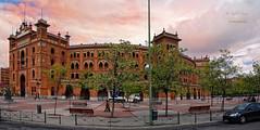 (298/16) Plaza toros de Madrid (Pablo Arias) Tags: pabloarias photoshop photomatix nx2 cielo nubes texturas arquitectura plazadetoros lasventas cosotaurino madrid comunidaddemadrid