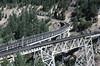 Spectacular Keddie Wye, 1988 (clarkfred33) Tags: trestle bridge keddiewye westernpacific wphistory trainsmagazine railroadadventure scenic scenicview adventure 1988