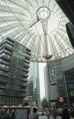 Berlin Potsdamer Platz (marzo ph.) Tags: daniele marzocchi minolta srt303 film 35mm color berlin potsdamer platz renzo piano kodak fb 2007 2010