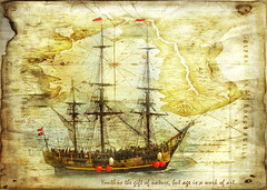 Youth is the gift of nature, but age is a work of art. (Stanislaw Jerzy Lec) (boeckli) Tags: lenabemannaj birgittasjstedt textures texturen outdoor sailing ship sailingship age alter schiff segelschiff poetography stanislawjerzylec quotes hongkong map landkarte