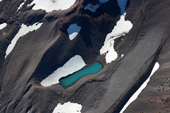 icy swimming hole IMG_1132 (pdx.rollingthunder) Tags: threesisters oregon mountains aerialphotography glaciers pacificnw cascademountains cascaderange northsister middlesister southsister