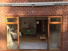 IMG_9271 (The Nottingham Window Company) Tags: nottingham window company windows doors conservatories aluminium aluk cream light oak upvc bi folding bifolds