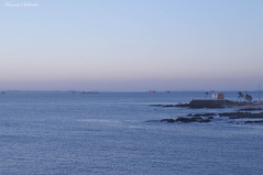 Porto da Barra - Salvador/Bahia/Brasil (AmandaSaldanha) Tags: nature natureza sea azul blue mar barra salvador bahia brasil inverno winter sunset prdosol landscape paisagem