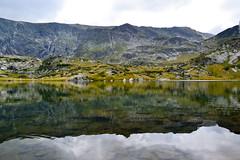 The Trefoil Lake, Rila, Bulgaria (Angelina Ra) Tags: nikon d3100 bulgaria mountain rila seven lakes trefoil water reflection landscape