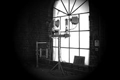 Light in church (Spot Shots) Tags: window okno vratislava poland polsko glass bw dark monochrome light church wroclaw architecture svtla kostel architektura