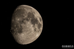 Moon (Gubbels Photography) Tags: mond moon germany gubbels photography constantijn canon 5dmkii 300mm converter hamburg alster winterhude barmbek night nacht luna close up cgp man