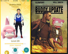 New Pokemon Go Update! (AntMan3001) Tags: pokmon go buddy slowpoke