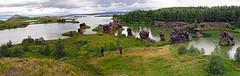 Myvatn01 (Vid Pogacnik) Tags: iceland myvatn rock towers lake landscape