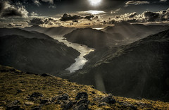 Into the Wilderness (bradders29) Tags: sgurramhaoraich beag lochhourn knoydart kintail scotland sunset mountain