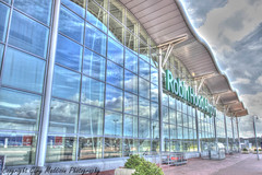 term1 tonemapped paint (madktm) Tags: robin hood airport doncaster sheffield terminal canon sigma airfield finingley south yorkshire hdr high dynamic range tonemap building architecture lightroom