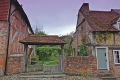 Side Garden (Deepgreen2009) Tags: cottages quaint old village alresford hampshire garden side buildings picturesque