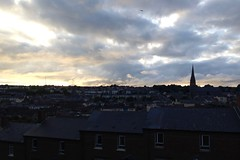 Dusk over Derry (jleathers) Tags: