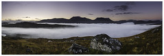 In the shadow of the mountain (Rainmaker Photography) Tags: uk scotland rannoch metabones efmountsigma a7r panorama inversion