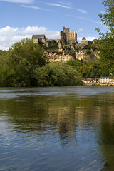 Beynac castle (Karen.Boyd.) Tags: france reflection castle river photography spring flood ripple dordogne chateau waterscape beynac