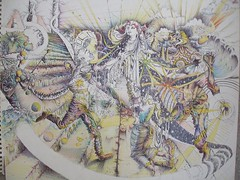 Louis Art-UrobrosAlbion_ColrPencil (LouisBraquet) Tags: original art pen ink sketch drawing originalart surrealism dream surreal fantasy surrealist dreamlike mythology unconscious penandink jungian freudian hallucinogenic psychoanalysis fantasticrealism subconscious psychoanalytical mythologicalart modernsurrealism modernsurrealist unconsciousimagery