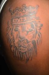 Lion King (inkwavetattoosinc) Tags: storm art king lion crown lionking tattooshop tattooparlor inkart tattoodesign inkwavetattoos darkskinink