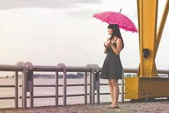umbrella project love  #8 (Natlia Viana) Tags: cute love hearts polkadots itsme natliaviana renanviana umbrellaprojectlove guardachuvadoamor