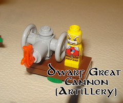 Alliance artillery (MarcosAlfonzo1976) Tags: miniatures lego fantasy boardgame heroica epic strategy moc