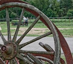 Broken Wheel (Paul Broderick) Tags: usa milton nikond90 brookwoodbrookwoodfarmbrookwoodcommunityfarmbrookwoodcantonmassmiltoncommunityfarmbrookwoodfarm masscommunityfarm massmassachusettscommunityfarmsnorthbennetstreetschoolproject