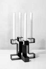 BENDIT (Gerard de Hoop) Tags: black dutch modern design candles candle steel powder moderne frame sleek coated holder kaarsen unconventional kandelaar kaarsenhouder otwerp gerarddehoop