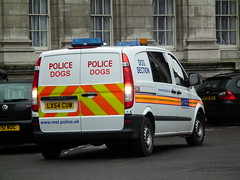 Met Police EDM (kenjonbro) Tags: uk white london westminster rear trafalgarsquare mercedesbenz van edm charingcross sw1 vito metropolitanpolice policedogs dogsection fujifilmfinepixhs10 fujihs10 lx54cuw