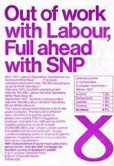 SNP leaflet, c.1978 (Scottish Political Archive) Tags: party scotland scottish national publicity campaign snp