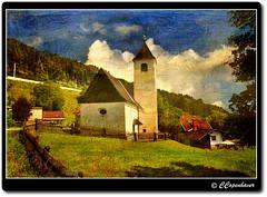 Abundance of Light (our cultural archive) Tags: texture austria chapel carinthia christian villagechurch religiousarchitecture culturaltreasure